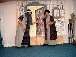 The innkeeper and Joseph