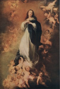 The Immaculate Conception Of The Virgin image